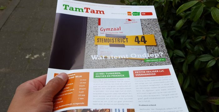 TamTam van mei is uit met o.a. Wat heeft Ondiep gestemd?