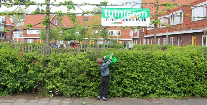 Zaterdag 1 juli tuinieren we weer in Het Kleine Park